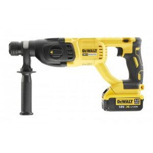 DEWALT – DCH133M1 Πιστολέτο 18V Li-Ion SDS-PLUS 2.6J Brushless (1×4.0Ah)